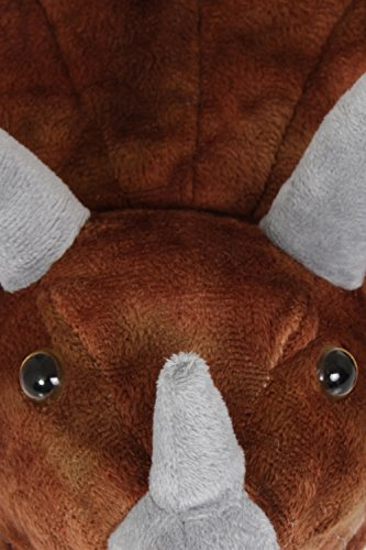 Nifty Kids Dinosaur, Jungen Mokassins Brown Triceratops