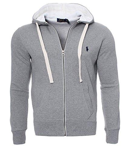 9782dbd59bb Ralph Lauren Herren Sweatjacke Hoodie Kapuzen Pullover Schwarz Navy Grau S  M L XL