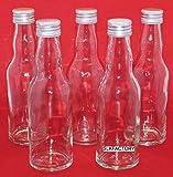 10 leere Glasflaschen mit Schraubverschluss 200ml KROPF Saftflaschen Likörflaschen Schnapsflaschen Essigflaschen Ölflaschen 0,2 liter l Essig/Öl Flaschen Saftflaschen von slkfactory