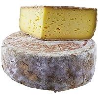 Tomme de Savoie IGP - 1,5 Kg de Tomme de Savoie - 100% authentique des Pays de Savoie - Fromage livré sous vide pour conserver son excellent goût