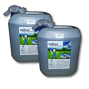 2 x 10 L-poids :  adBlue sCR urée, solution à