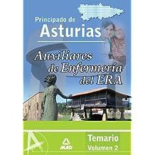Auxiliar De Enfermería Del Era (Establecimientos Residenciales Para Ancianos De Asturias) Temario Vol. Ii.