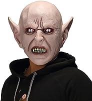 The Evil Halloween Demon Dead Cosplay Props,Horror Alien Devil Monster Mask Gray