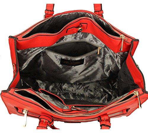 Swankyswans Marcella Cosmo Work Bag, Damen Schultertaschen Rot
