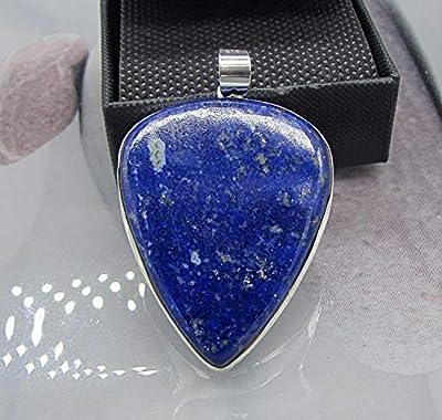 Pendentif Bohème Argent Lapis Lazuli
