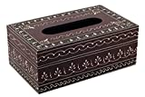 Swagger Hand-painted wooden tissue box /...