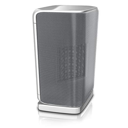 Brandson - Heizlüfter - Keramik Heizung - Badezimmer energiesparend leise - Schnellheizer mit Oszillationsfunktion - 2x Heizstufen - Heizung Heater - GS zertifiziert