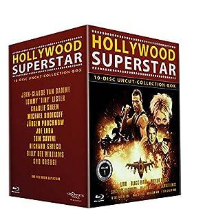 Hollywood Superstar Uncut-Collection 10er-Box (Leon - Black Eagle - Moving Target - Executive Command - Crash Dive - The Demoli