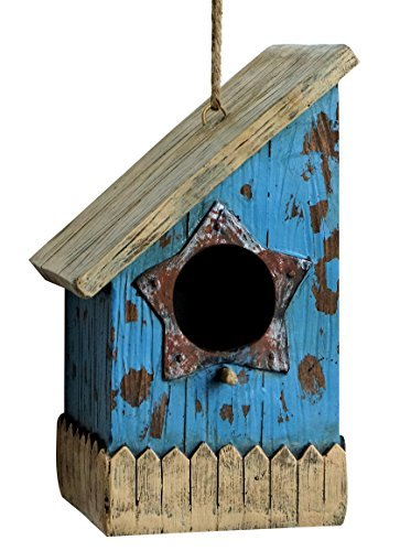 Harmony Fountains Prairie House 22,9cm Vogelhaus-Rustikal Vogelhaus. hf-bh-001 (Americana-dekor Farbe)