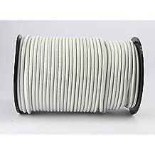 20m GUMMISEIL 6mm blanco goma planificar cuerda de saltar cuerda elast. Cuerda lona