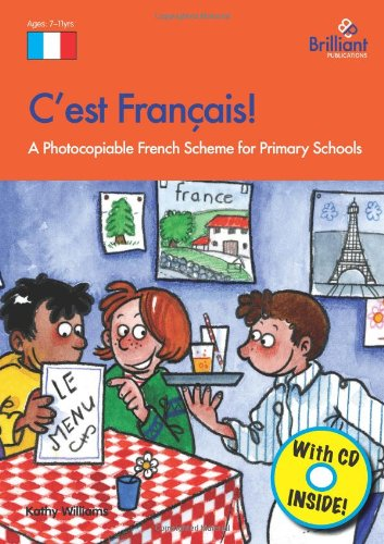 C'est Francais!: A Photocopiable French Scheme for Primary Schools (Book & Tape)