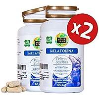 Melatonina para ayudar a conciliar el sueño – Amapola californiana, pasiflora, melisa, valeriana y tila para potenciar.