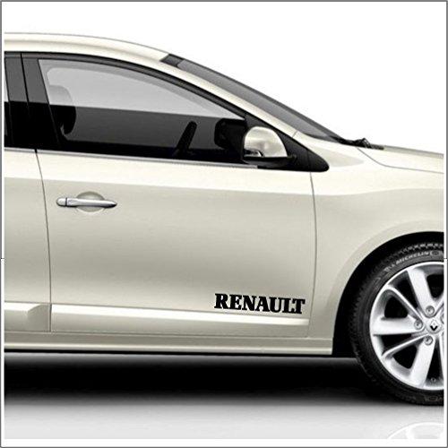 """Aufkleber Kit """"2x Renault Aufkleber ca. 30 cm"""" Aufkleber gebraucht kaufen  Wird an jeden Ort in Deutschland"""