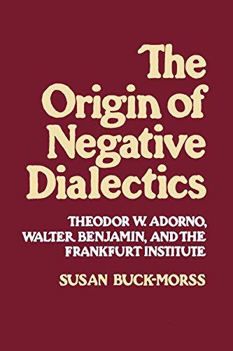 Origin of Negative Dialectics: Theodore W. Adorno, Walter Benjamin, and the Frankfurt Institute por Susan Buck-Morss