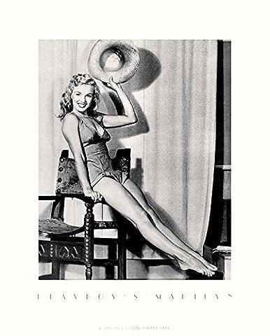Earl Moran Poster Kunstdruck Bild Playboy's Marilyn Monroe II 50x40cm
