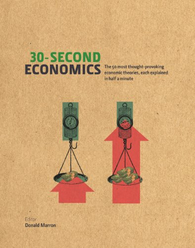 30-Second Economics: The 50 Most Thought-Provoking Economic Theories, Each Explained in Half a Minute (English Edition) por Donald Marron
