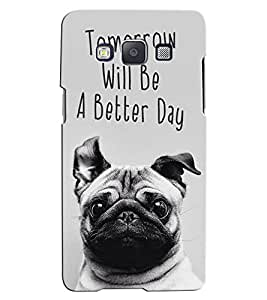 Citydreamz Tomorrow will be a Better Day\Quotes Hard Polycarbonate Designer Back Case Cover For Samsung Galaxy J2