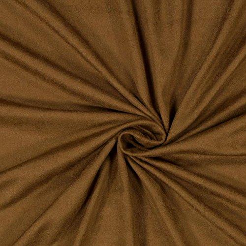 Fabulous Fabrics Stretch Suede Uni 7 - Meterware ab 0,5m - zum Nähen von Kleider - Polyester Wildleder Stuhl