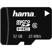 Hama microSDHC 32GB memoria flash Classe 6