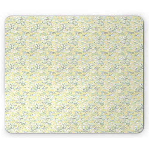 Pastel Mouse Pad, Floral Dandeli...