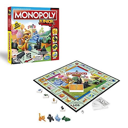Hasbro Gaming A6984398 - Monopoly Junior Kinderspiel