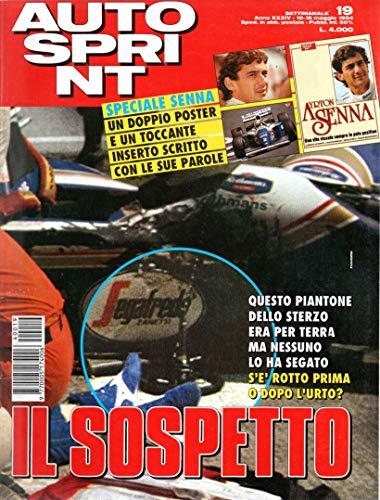 Autosprint Auto Sprint 19 maggio 1994 Speciale Ayrton Senna, no doppio poster