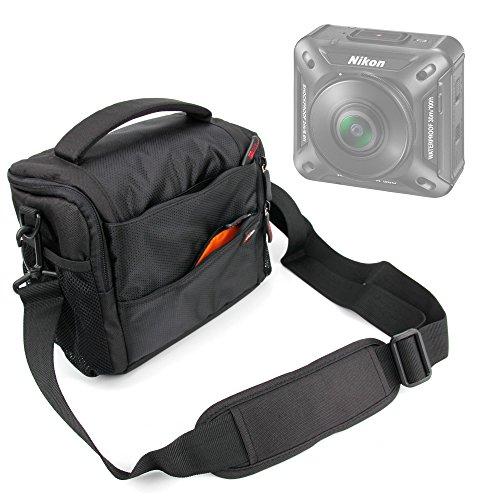 Borsa Con Scomparti Per Nikon KeyMission 360   170   80 - Alta Qualità - DURAGADGET