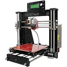 Geeetech® Prusa I3 Pro B stampante 3D in acrilicocon kit non montato, Kit fai da te di alta qualità eccellente di