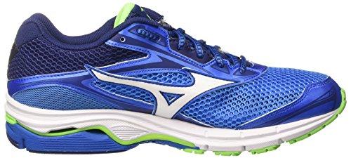 Mizuno Herren Wave Legend Joggingschuhe, Blau Multicolore (FrenchBlue/White/TwilightBlue)