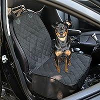 Cani Ecooltek-Coprisedile universale anti-scivolo-Protezione per sedile auto, lavabile in lavatrice, con gli ancoraggi per auto, camion, SUV e e veicoli