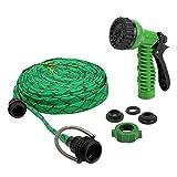 #4: HOKIPO® 7 Pattern High Pressure Garden Nozzle Water Spray Gun with 20 Metre Hose
