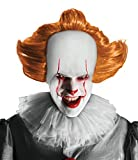 Stephen Kings IT/ES Pennywise Clown Maske mit Haaren