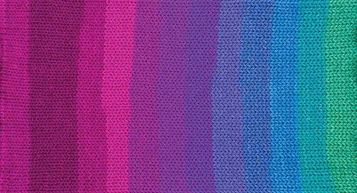 Red Heart Super Saver Yarn-Polo Stripe (Wrap Robe Knit)