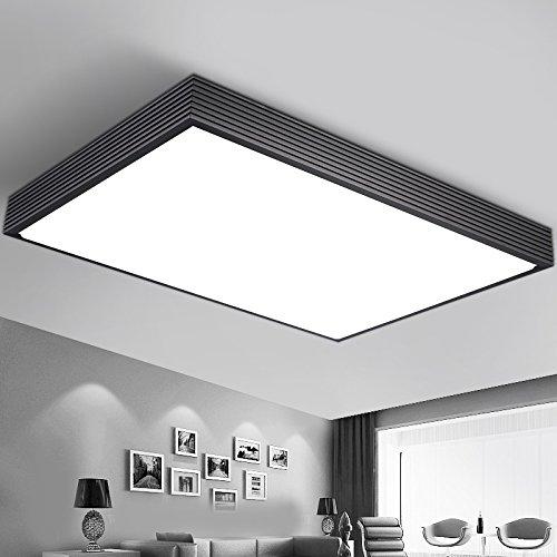 SDKKY LED Decke Lampe Rechteckige Minimalistischen Wohnzimmer Dimmer Schlafzimmer Beleuchtung Idee Esszimmer Lampen Zu Studieren Und Seitliche