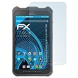 atFolix Displayschutzfolie für Samsung Galaxy Tab Active 8.0 (SM-T360) Schutzfolie - 2 x FX-Clear kristallklare Folie
