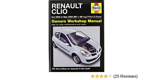 renault clio petrol and diesel service and repair manual 2005 to rh amazon co uk Auto Repair Manuals PDF Auto Repair Manuals Ford Flex