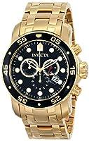 Invicta 0072 - Reloj de pulsera hombre, color dorado de Invicta