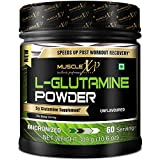 #8: MuscleXP Micronized L-Glutamine Powder - 300Gm (10.6 Oz) Unflavored