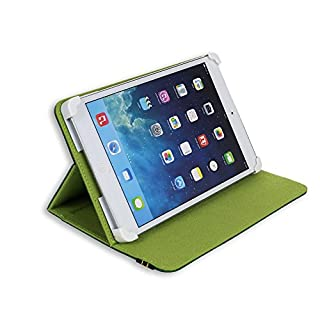 Danystar® Universal-Hülle für 8-Zoll-Tablets (20,32 cm), mit verstellbaren Halterungen, passend für Acer Iconia W3, Alcatel One Touch Pixi 8, Archos 80 Xenon , Archos G9 Turbo 8, Archos 80 Titanium, Asus Zenpad 8.0 Z380KL, Asus ZenPad S Z580CA, iRULU eXpro 1S Tablet (X1S) 8