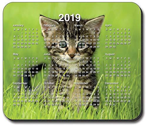 Art Teller Marke-Kätzchen im Gras Maus Pad-mit 2017Kalender (Welpe Gras Pad)