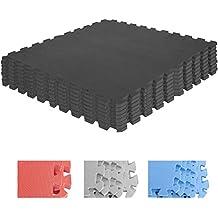 GORILLA SPORTS® Schutzmatten-Set – 8 Puzzle-/Sport-Matten 60 x 60 cm