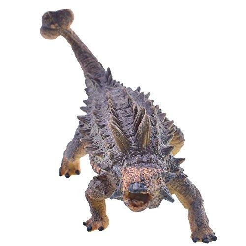 Arfbear Dinosaurio Plástico para Niños Presente Mundo Extinto Juguete Novedad Niños Regalo Dinosaurio Figura Ankylosaurus