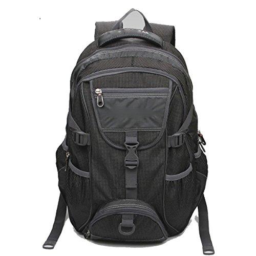 Leichtes Wandern Wasserdichte Rucksack Daypack Für Outdoor Sport,Red Black