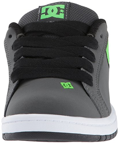 DC ShoesCourt Graffik SE Youth Shoe - Sneaker Ragazzo Green/Grey/White