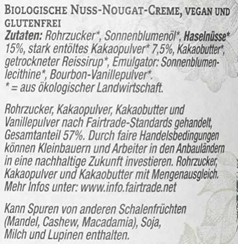 Brinkers La Vida Vegan Bio Nuss-Nougatcreme, 270 g - 3