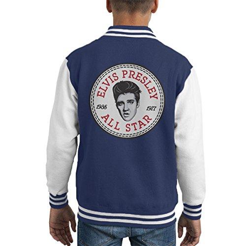 Elvis Presley All Star Converse Logo Kid's Varsity Jacket (Elvis Presley Jacke)