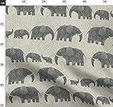 Afrikanisch, Afrika, Afrikanisch Inspiriert, Elefant,