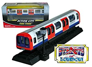 Action City London Tube Train
