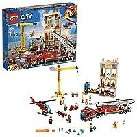 Prendi la tua attrezzatura da pompiere: è giunto il momento di entrare in azione Gli operai edili di LEGO City hanno abbattuto acc identalmente un lampione, causando un incendio nel cantiere in centro città. Accendi le luci e la sirena sul camion dei...