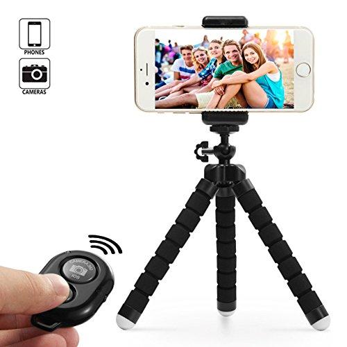 Dezuo 18cm Mini Trípode para Móvil, Smartphone, Cámara, iPhone,...